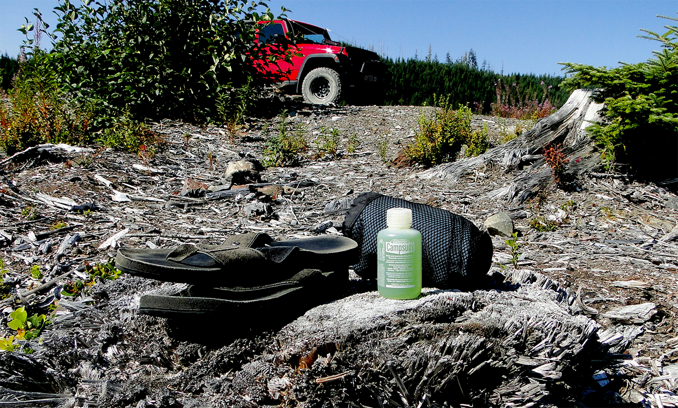 Campsuds Soap for Off-Road Expedition Jeep Wrangler
