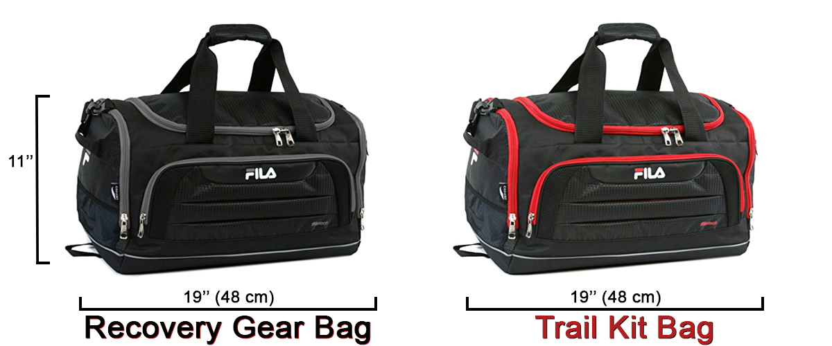 Fila Duffel Bags Trail Tool Kit and Recovery Gear