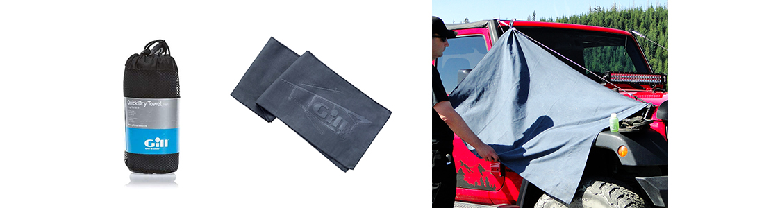 Gill Quick Dry Towel Jeep Wrangler Camping