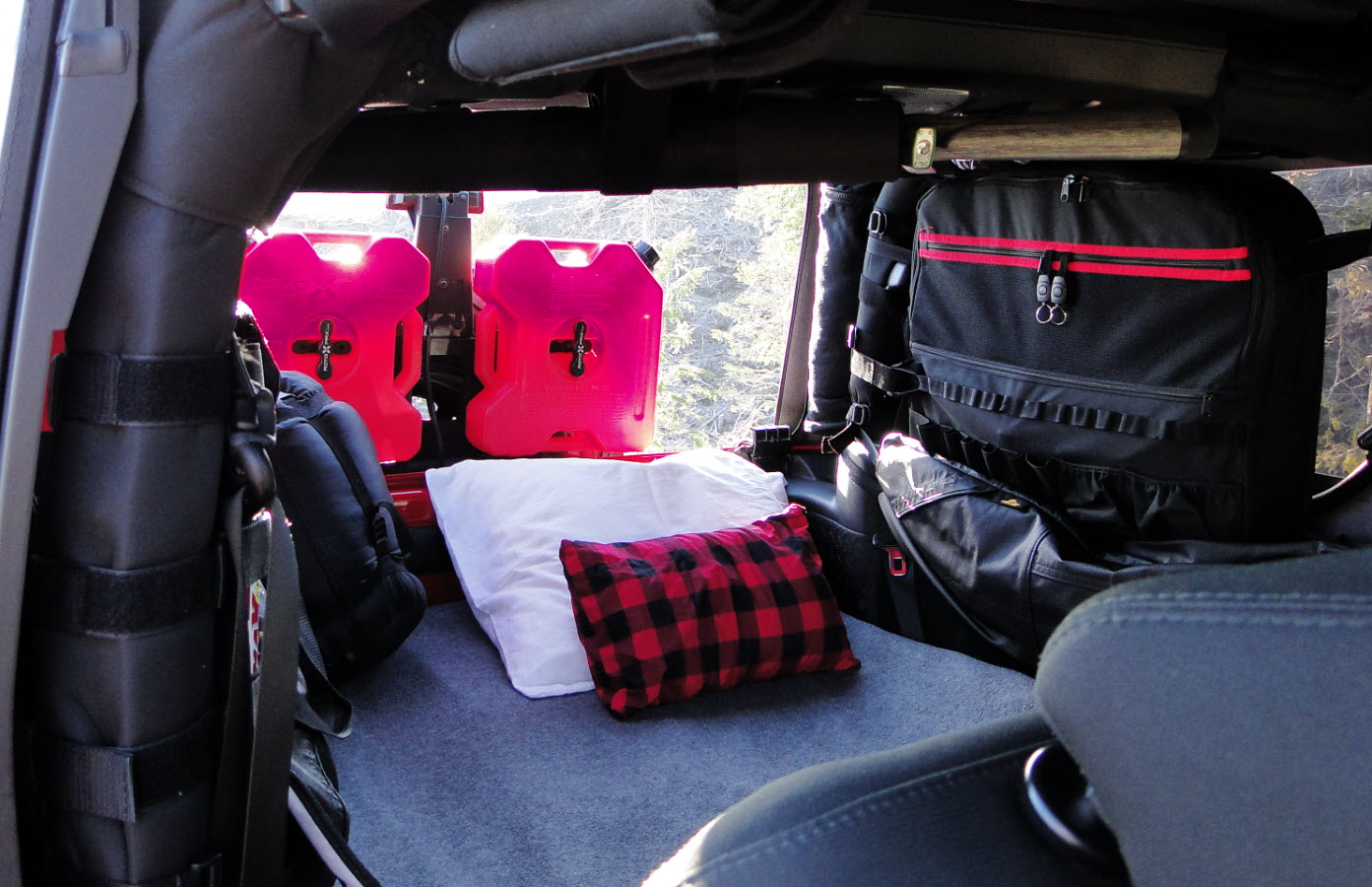 How To Sleep In A Wrangler Jk Jl 2 Door Jeep Front Seat Cargo Cover Area