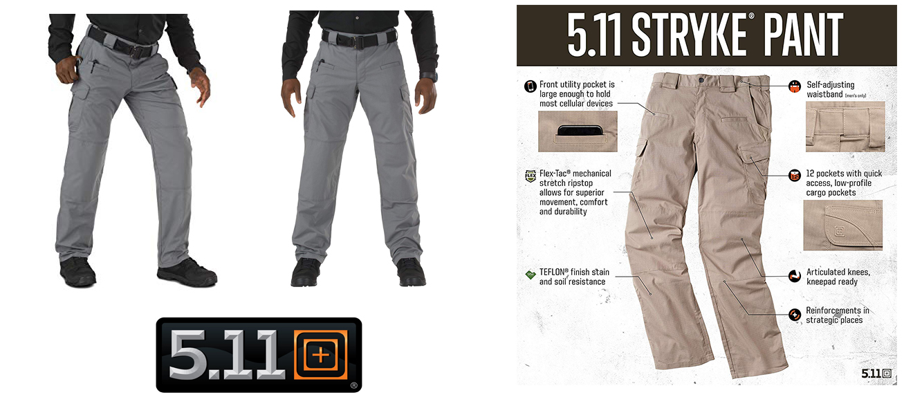 Stryke Pants for Off-Road Expedition 4x4