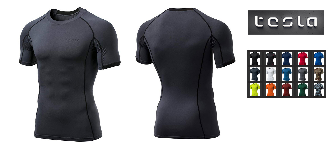 Tesla Compression Shirt MUB13