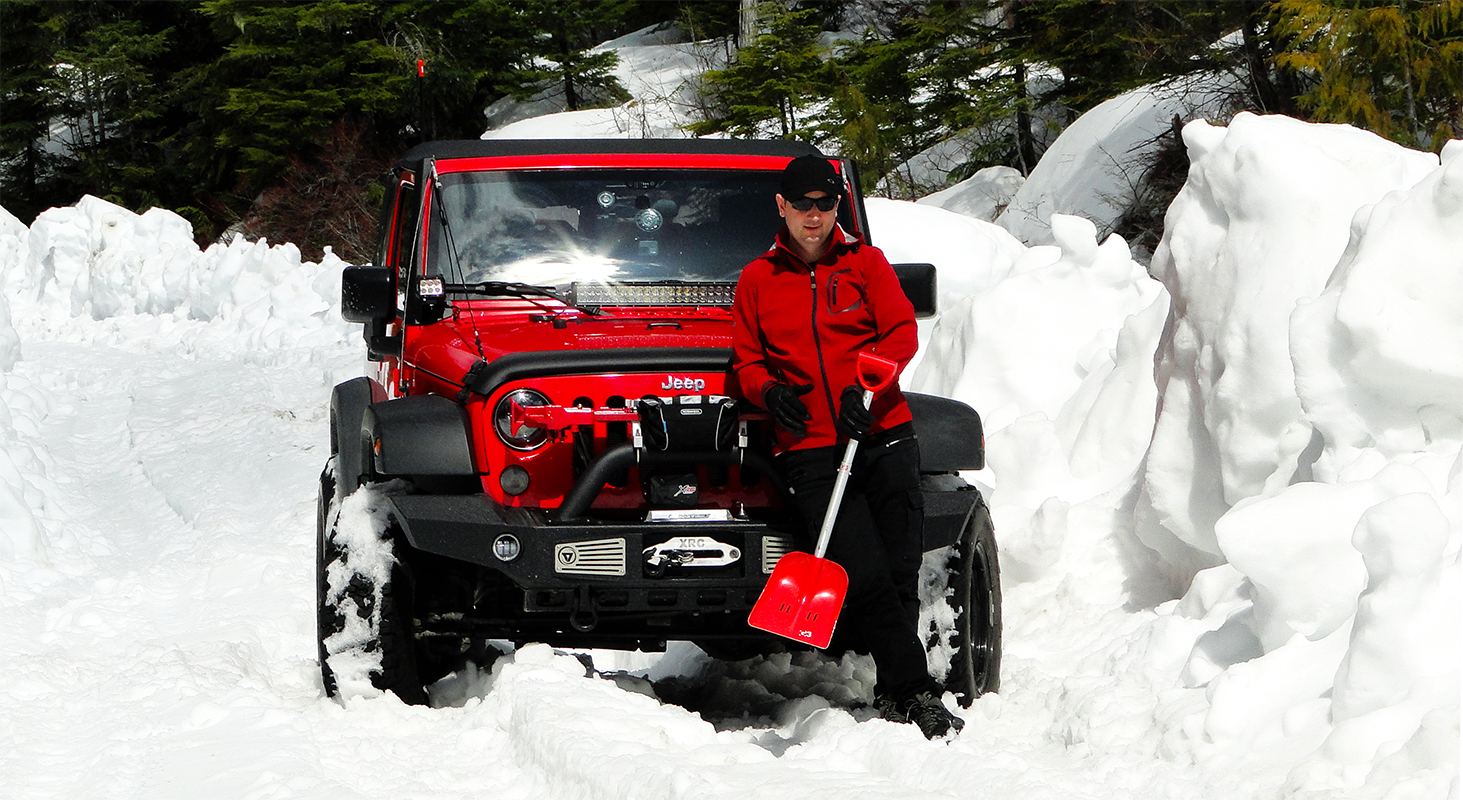 What to Wear Jeep Wrangler JK Off Road Winter