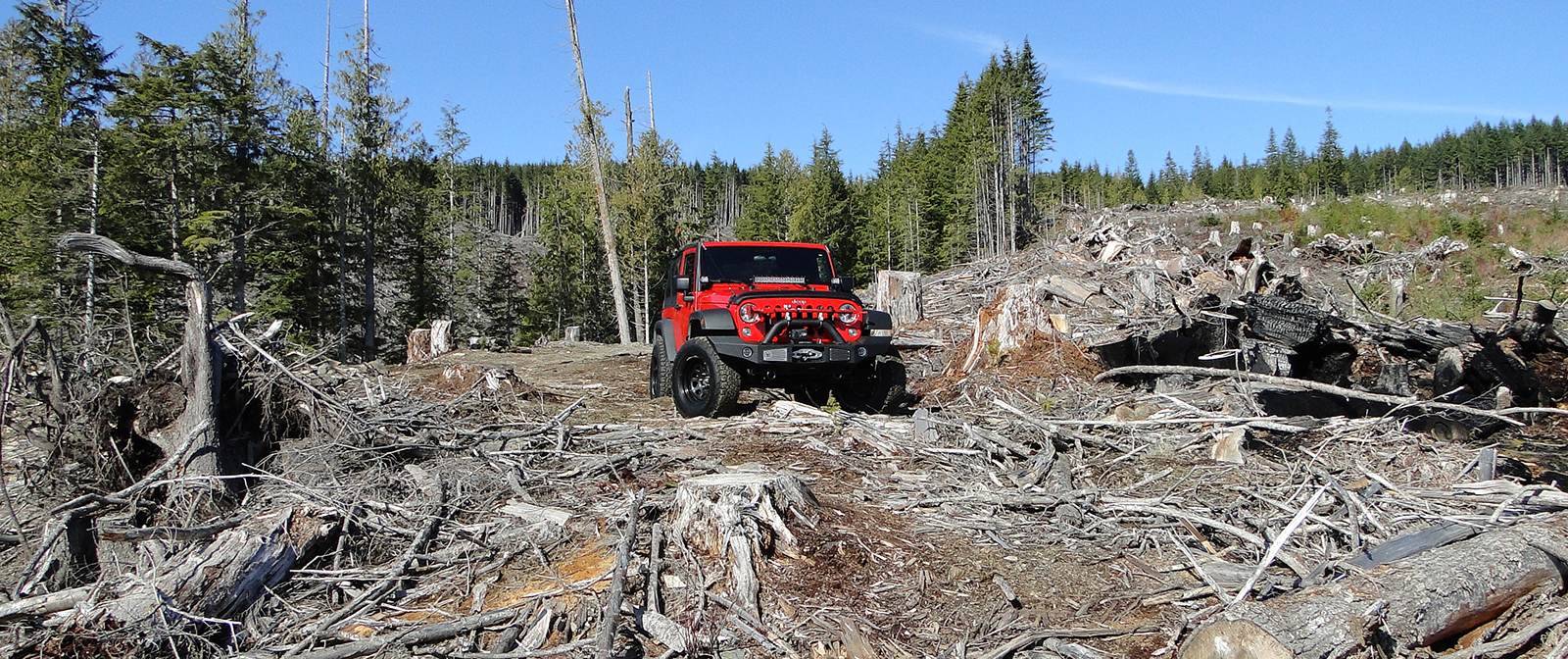 Wrangler JK Long Distance Trail Tools Yukon Canada