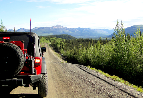 Long Distance Expedition Jeep Wrangler