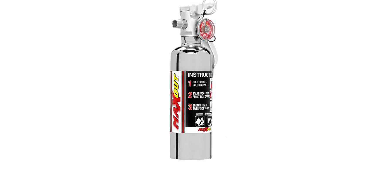 Aviation Fire Extinguisher for Off-Road Use