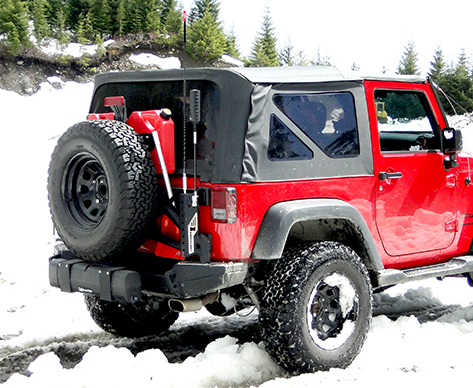 Jeep Antenna Cell Phone Booster
