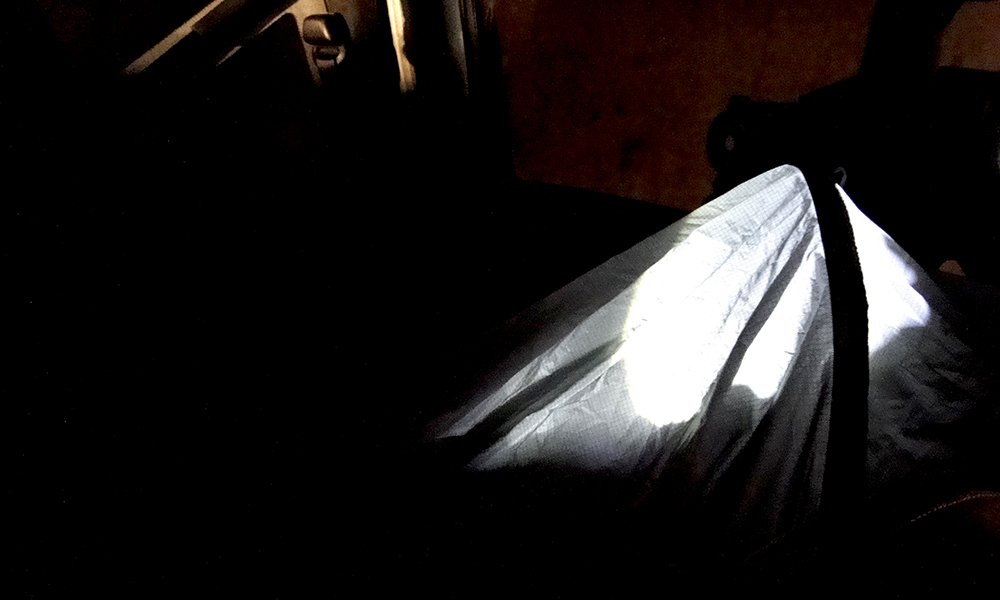 Sleeping in a Bivvy in a car during Winter