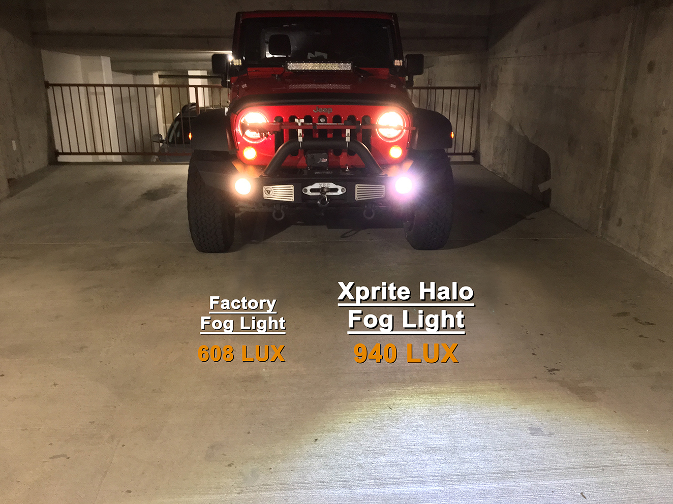 Xprite Fog Lights