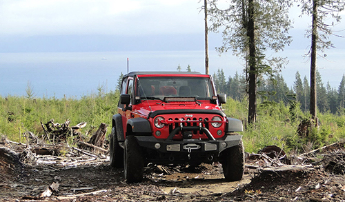 Jeep Solo Off-Roading